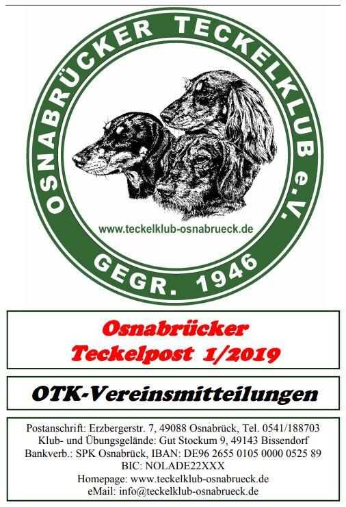 Teckelpost 2019/1